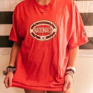 Nike Washington nationals tshirt